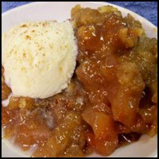 Crockpot Apple Brown Betty.