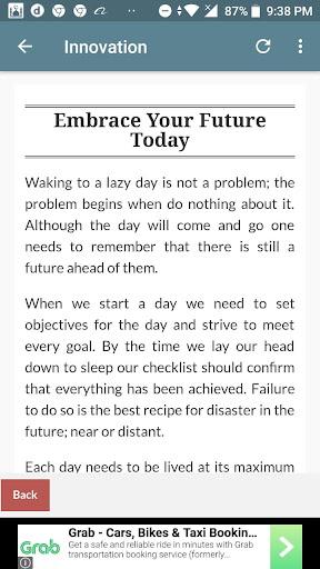 Daily Motivation Innovation 1.0 screenshots 1