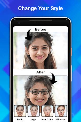 Face Age Editor App screenshot 4