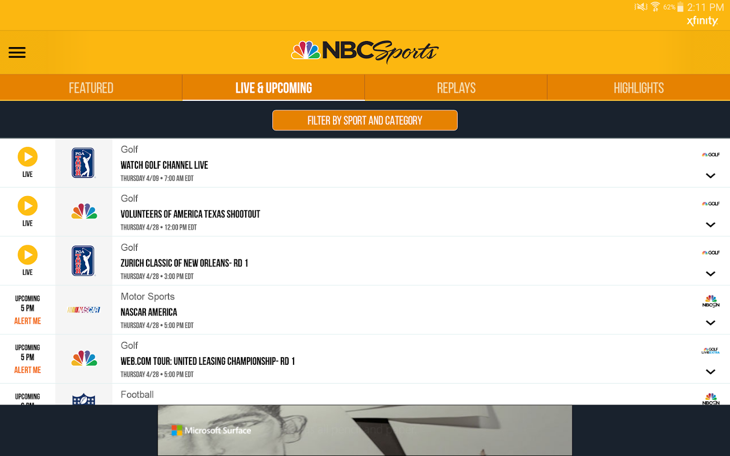 Watch NBC Online without Cable