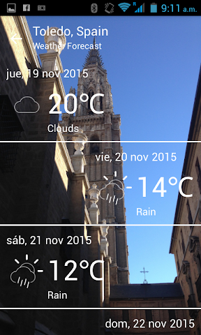 android Toledo City Screenshot 2