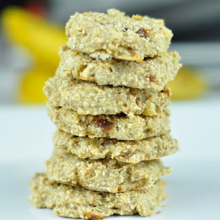 BANANA OATMEAL COOKIES - A HEALTHY BREAKFAST.