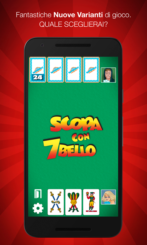 Scopa Più- screenshot