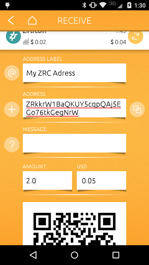 ziftrWALLET- screenshot