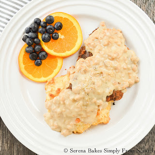 Chicken Fried Steak with Sausage Gravy
