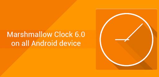 Marshmallow Analog Clock 6 0 - Apps on Google Play