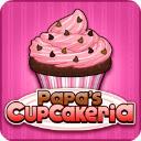 Papas Cupcakeria Game