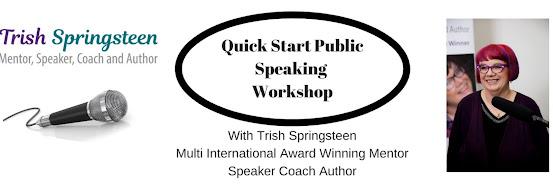 Quick Start Public Speaking Workshop