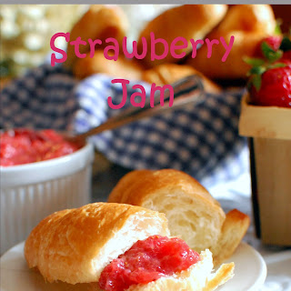 Easy Strawberry Jam.