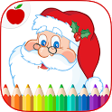 Christmas Coloring Book Games icon