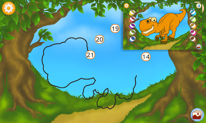 Dinosaur - Connect the Dots - screenshot