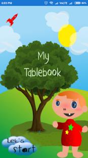TableBook - náhled