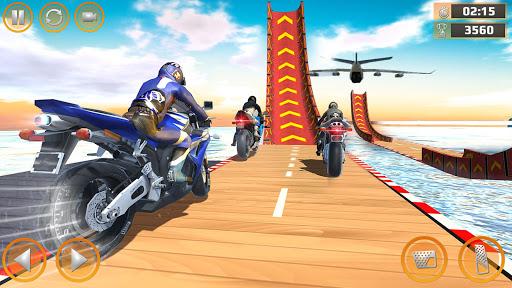 Mega Ramp Impossible Tracks Stunt Bike Rider Games 2.9 screenshots 4