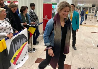 Kim Clijsters hoeft zich over populariteit geen zorgen te maken