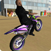 Dirt bike city rally