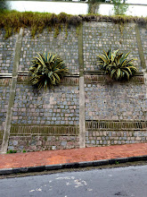 Photo: Embankment near Cathedral, Quito