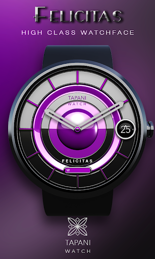 Felicitas wearable watch face