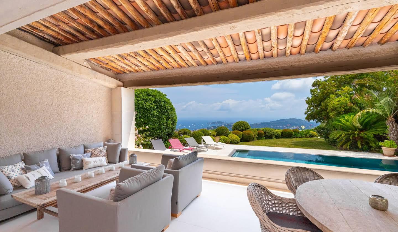 Villa avec piscine et terrasse Villefranche-sur-Mer