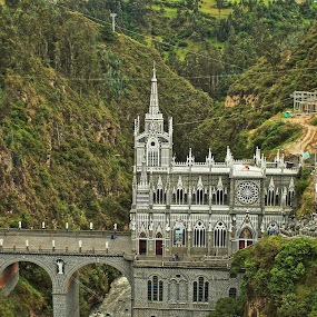 sanctuario de las lajas by Jorrit Prmt - Buildings & Architecture Places of Worship