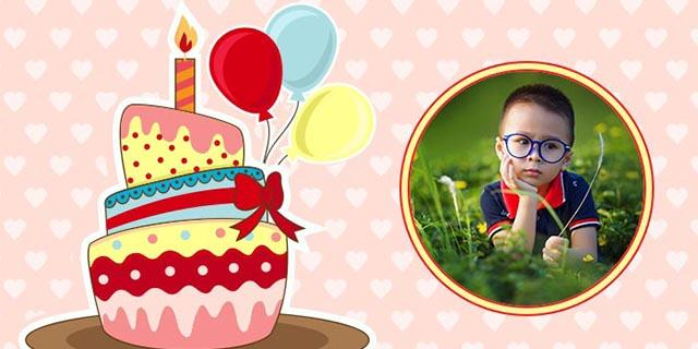 Birthday Photo Frame- screenshot