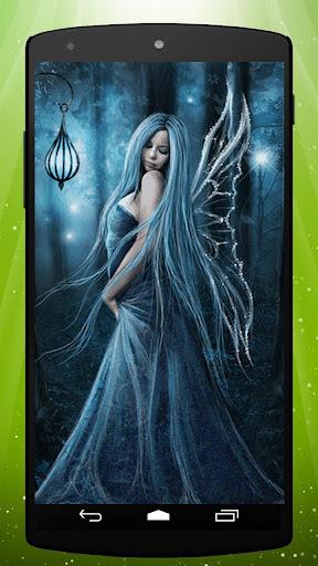 Night Fairy Live Wallpaper