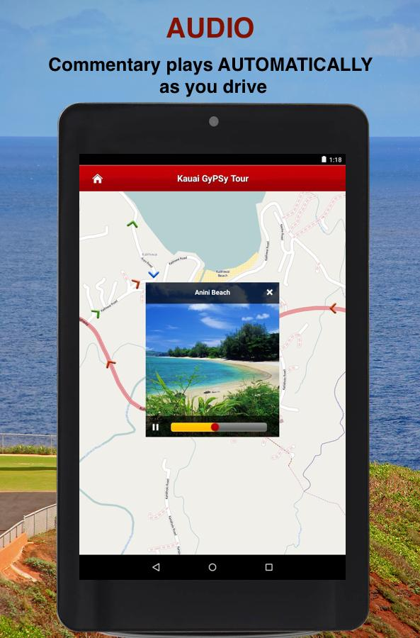 Kauai GyPSy Guide Driving Tour- screenshot