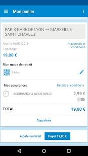 Voyages-SNCF Screenshot 6