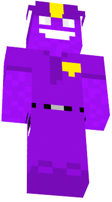 Purple Guy from Fnaf (Five Nights at Freddy's).