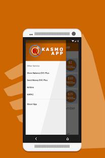 Kasmo App - náhled