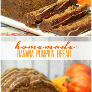 Banana Pumpkin Bread Recipe!
