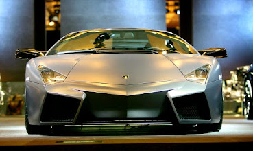 Photo: LOS ANGELES, CA - NOVEMBER 15:  Lamborghini showcases its new $1.4 million Reventon during the two-day media preview of the Los Angeles Auto Show, first major North American car show of the season, on November 15, 2007 in Los Angeles, California. The show opens to the public on November 16 with more than 40 World and North American debuts and 1,000 new vehicles, and runs through November 25.  (Photo by David McNew/Getty Images)   Original Filename: 77938914.jpg