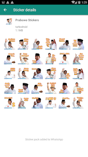 Stiker WA Capres Jokowi Prabowo for PC-Windows 7,8,10 and Mac apk screenshot 4
