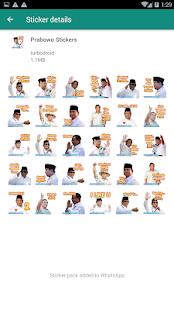 Download Stiker WA Capres Jokowi Prabowo For PC Windows and Mac apk screenshot 4