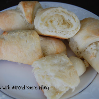 Croissants with Almond Paste Filling.