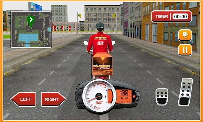 3D Courier Boy Simulator Game - screenshot
