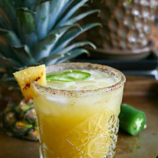 Grilled Pineapple + Jalapeño Margaritas.