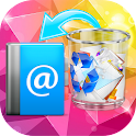 Deleted Contact Restore Backup icon