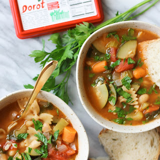 Tuscan Vegetable Pasta Soup