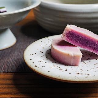 Purple Sweet Potato and Cranberry Tea Cakes.