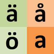 Swedish alphabet for students