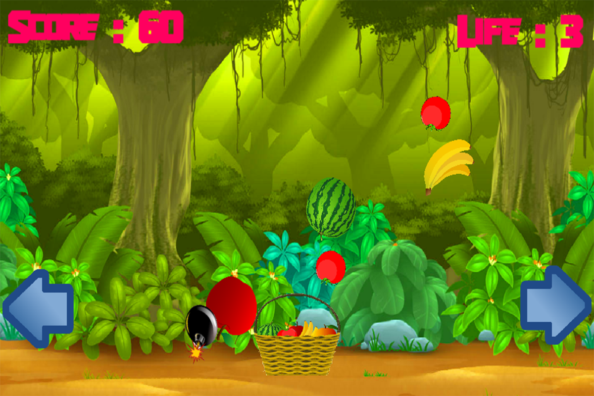 Fruit link deluxe - Fruits Catch Screenshot