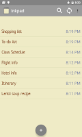 Screenshot of InkPad Notepad - Notes - To do
