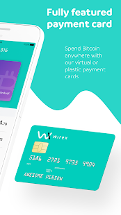 Wirex. Bitcoin Wallet & Card- screenshot thumbnail