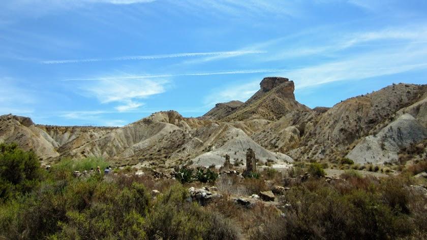El Desierto de Tabernas, con sus paisajes extemos, es un lugar único para el turismo de naturaleza.