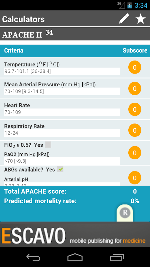 Sepsis Clinical Guide- screenshot