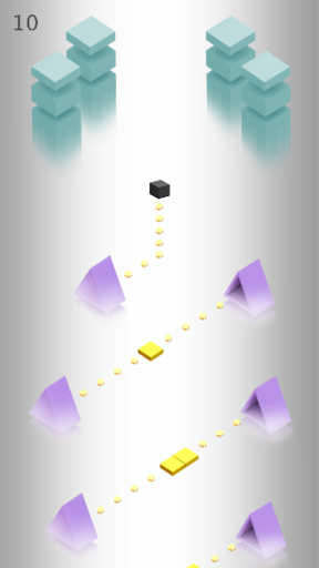 IMPOSSIBLE CUBE JUMPER: OBSTACLE COURSE GAMES apkmind screenshots 3