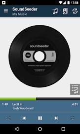 SoundSeeder Music Player Screenshot 1