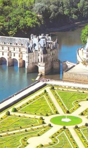 シュノンソー壁紙とテーマの城