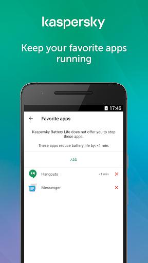 Kaspersky Battery Life: Saver & Booster screenshot 3
