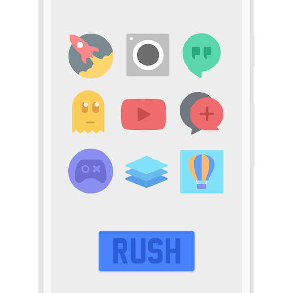 RUSH Icon Pack v1.0 [Paid]